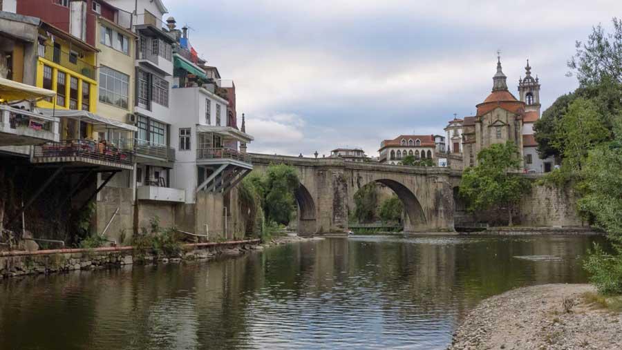 Río Tämega, en su paso por Amarante