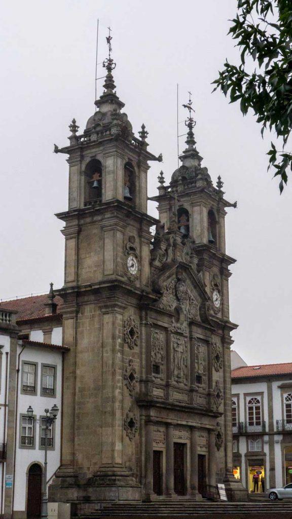 Vista de la Iglesia de Santa Cruz (Braga)