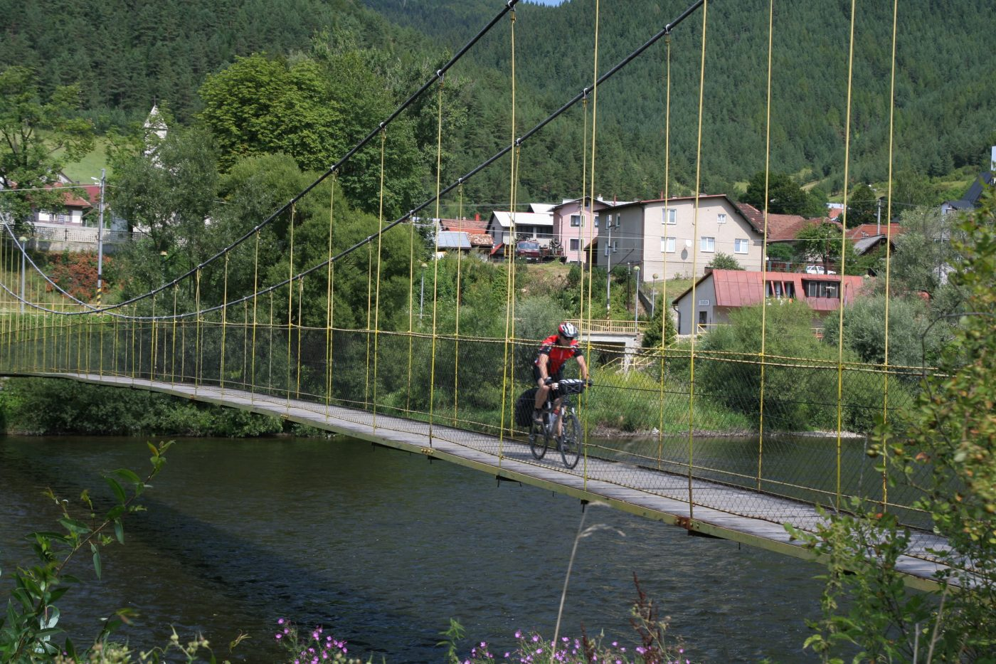 Hungría y Eslovaquia en bicicleta