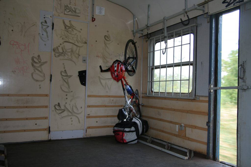 Transportar tu bicicleta de cicloturismo: transporte en tren en Eslovaquia