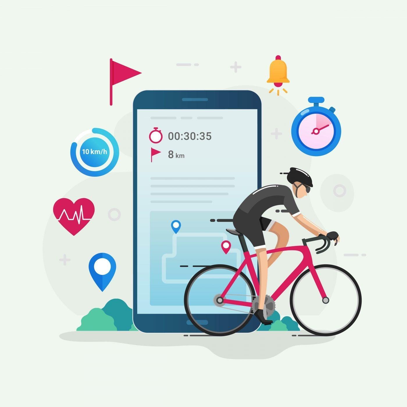 Las mejores aplicaciones de ciclismo