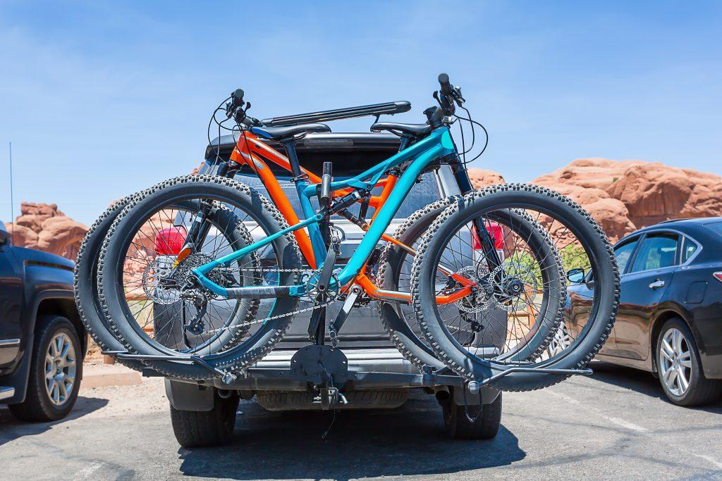 Transporte de bicicletas de bola de remolque
